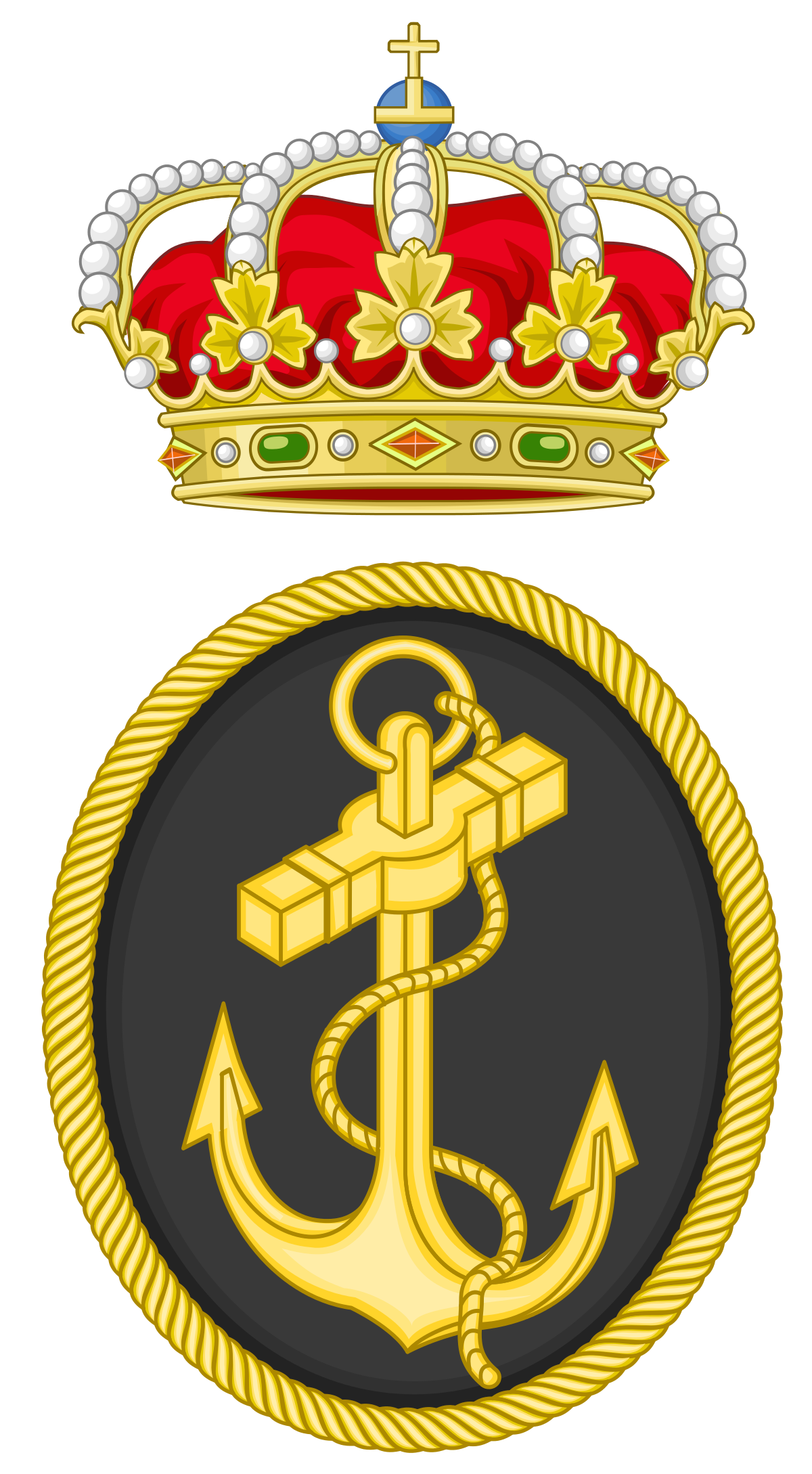 Spanish wikipedia . Clipart anchor chief navy