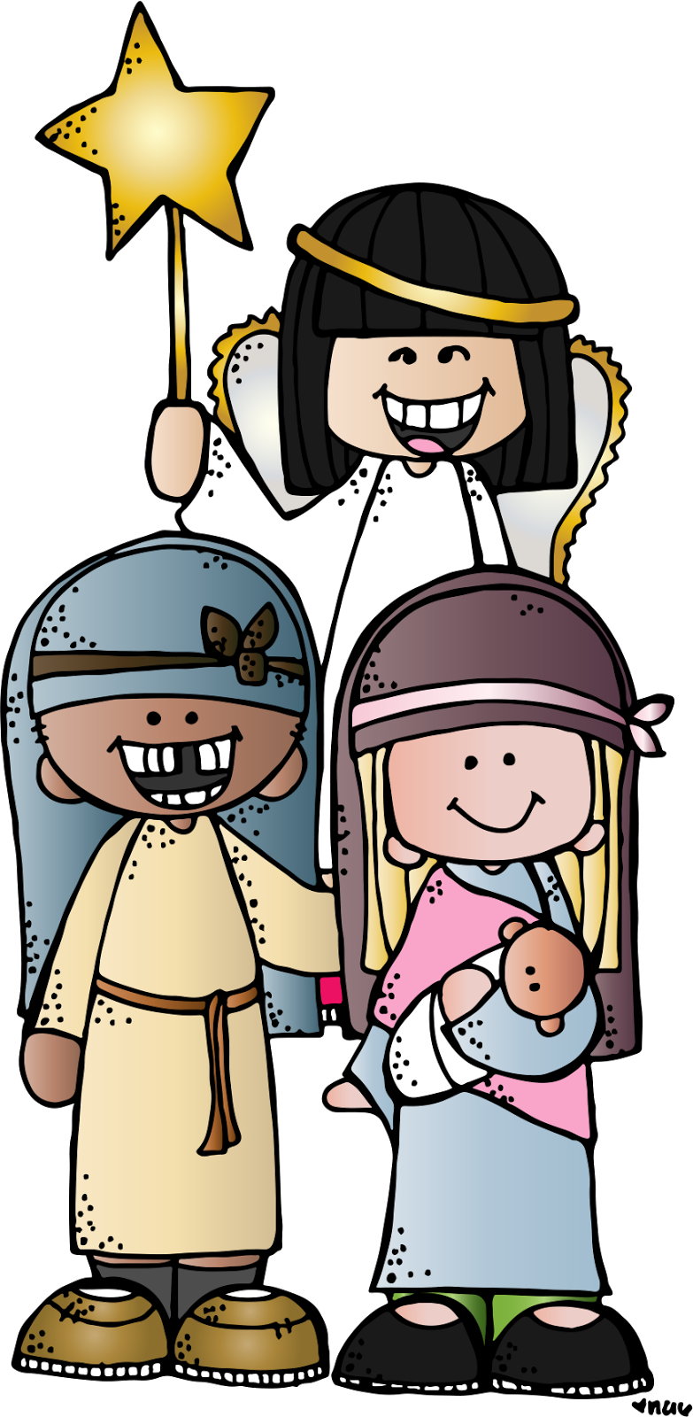 family clipart teacher