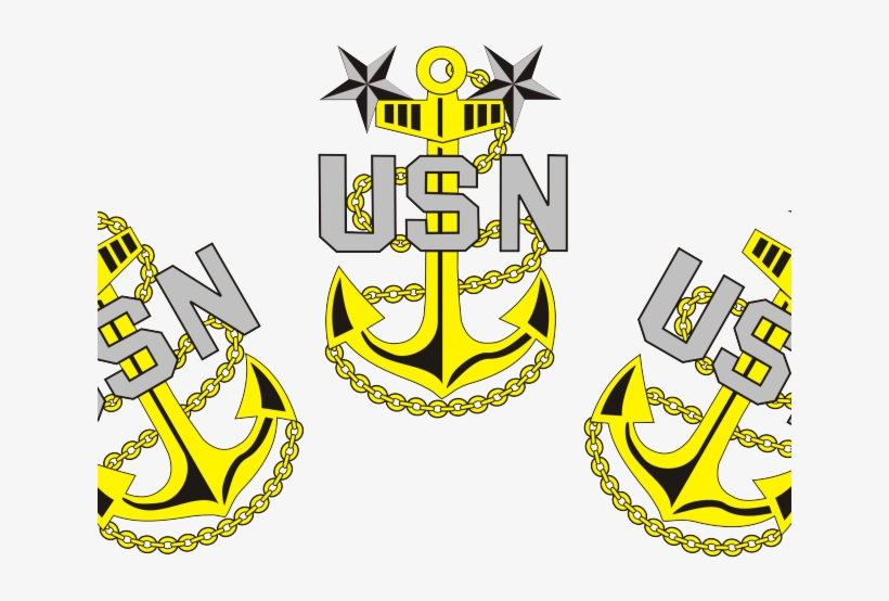 Chief anchors png image. Navy clipart cpo