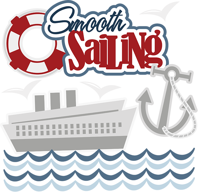 Clipart anchor cruise. Smooth sailing svg scrapbook