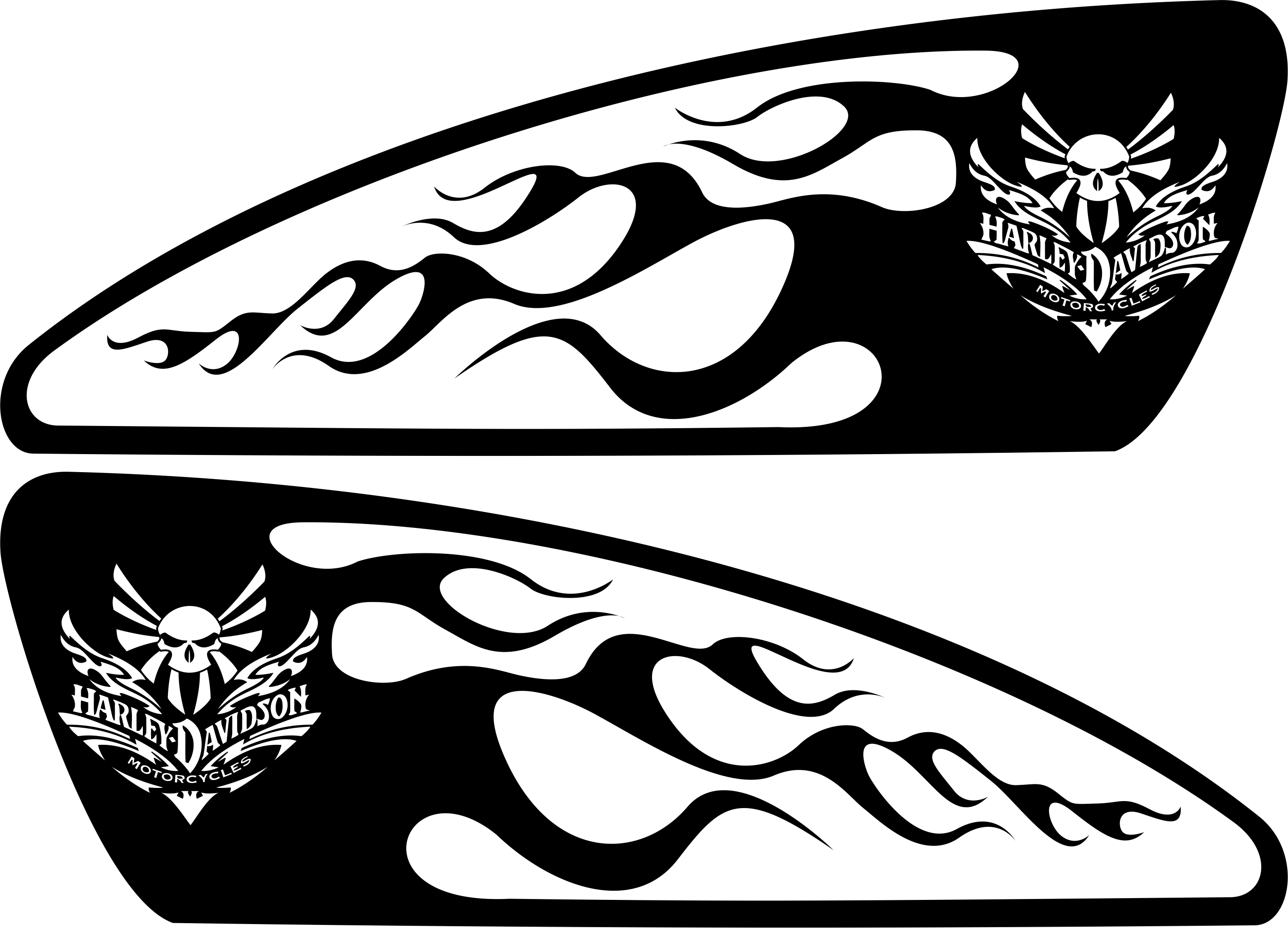 Motorcycle clipart motorcycle tank. Harley decals airbrush gas