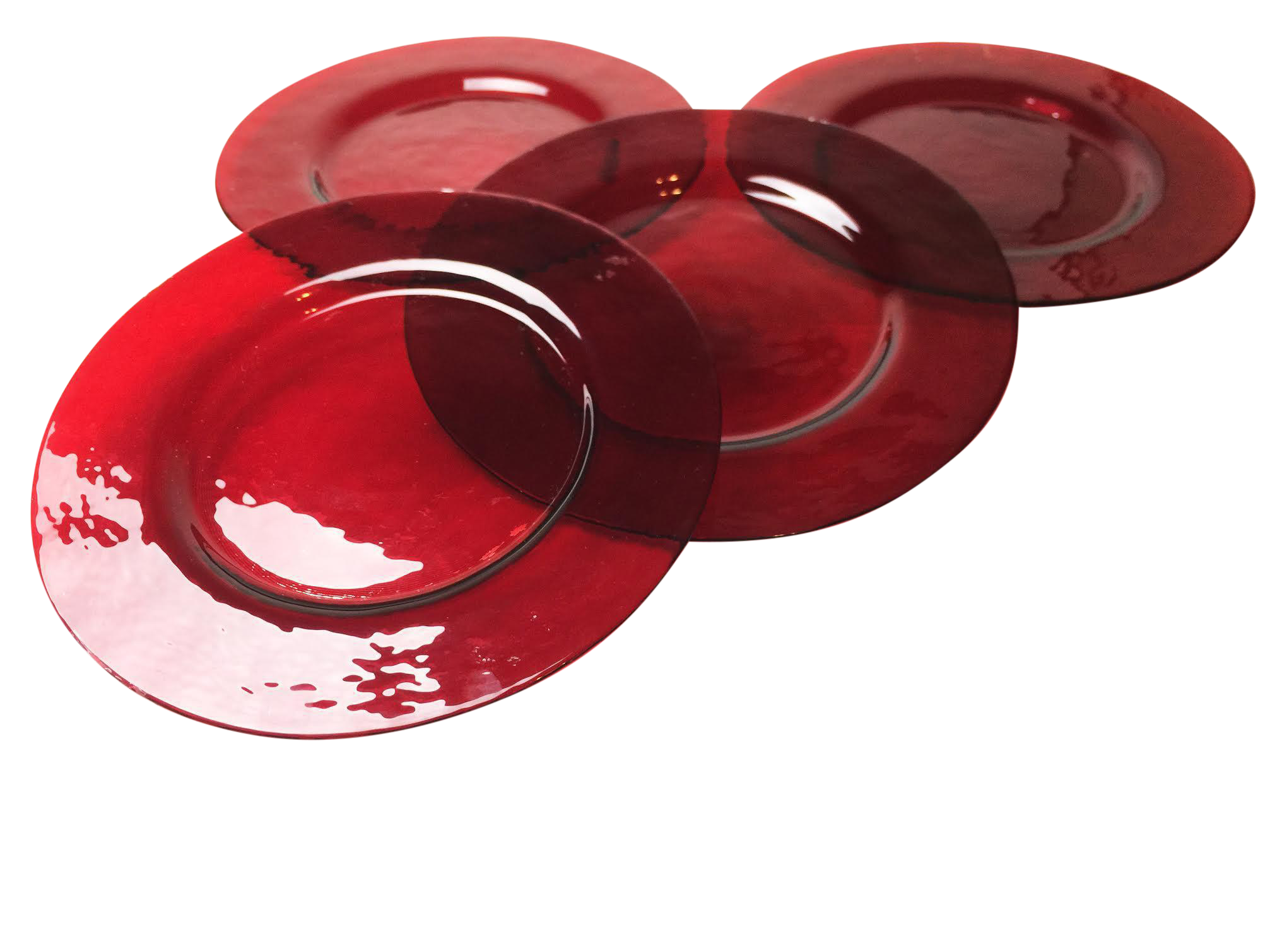 Anchor hocking ruby red. Dishes clipart plate glass