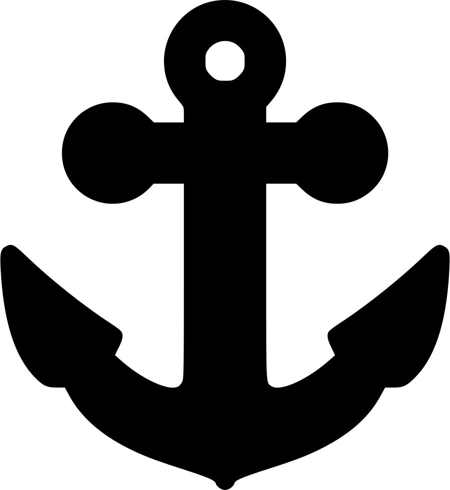 Clipart anchor eps. Svg png icon free