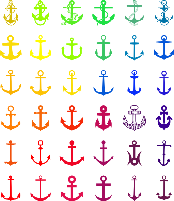 Anchors suited to every. Clipart anchor fancy