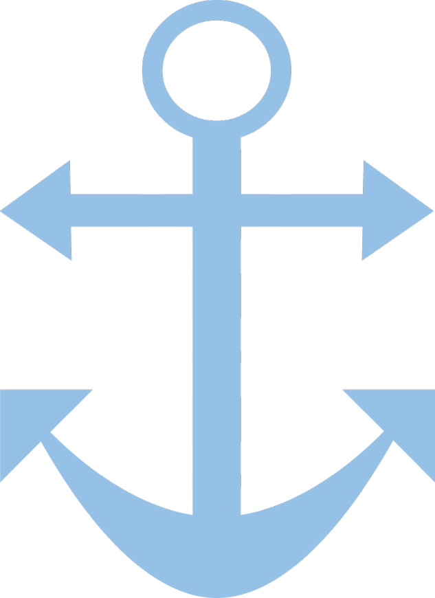 Passatempo da ana ursinho. Clipart anchor fancy