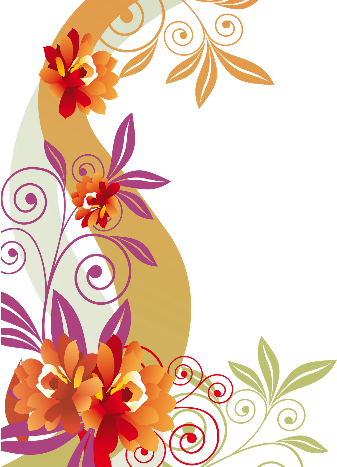Clipart anchor floral. Png colorful flower flowers