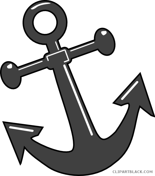 Clipart anchor gray. Grayscale clipartblack com tools