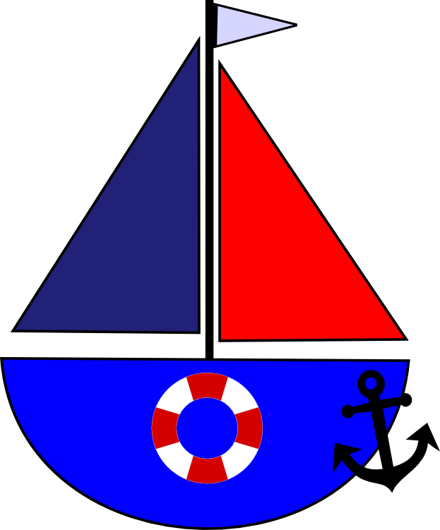 Sailboat and svg s. Clipart anchor life preserver