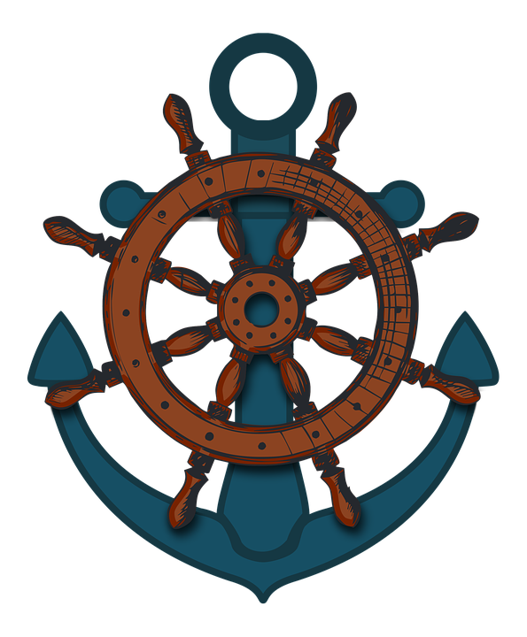 Uscg master captain s. Clipart anchor mariner