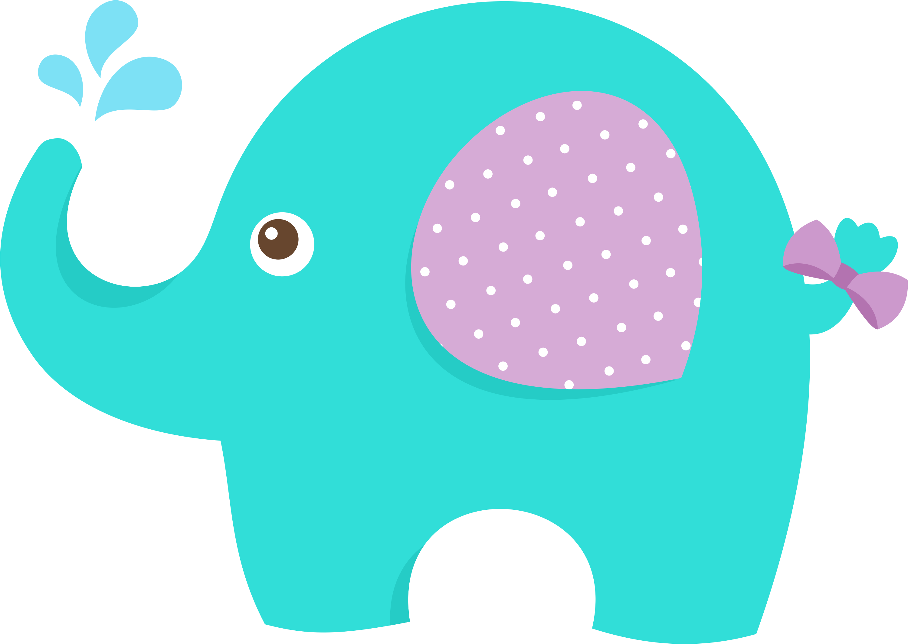 clipart balloon baby elephant #62099919