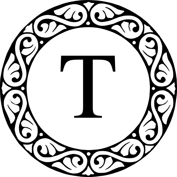 Letter t clip art. Clipart butterfly monogram