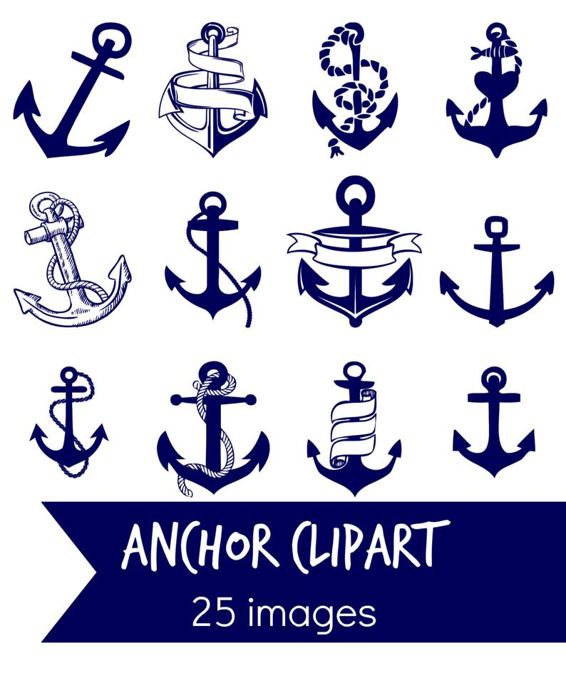 Clip art blue digital. Clipart anchor navy canadian