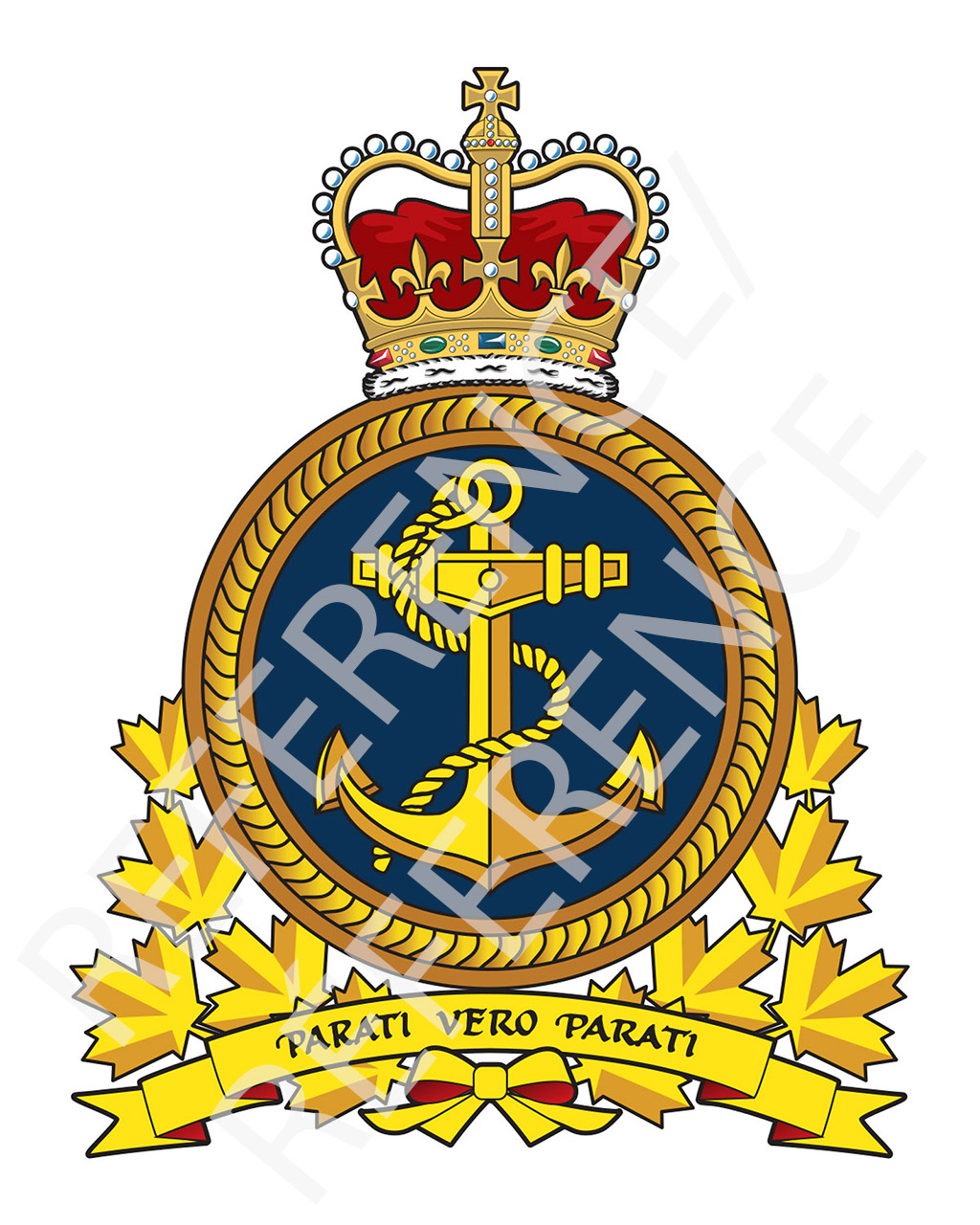 Crowsnest winter rcn adopts. Clipart anchor navy canadian