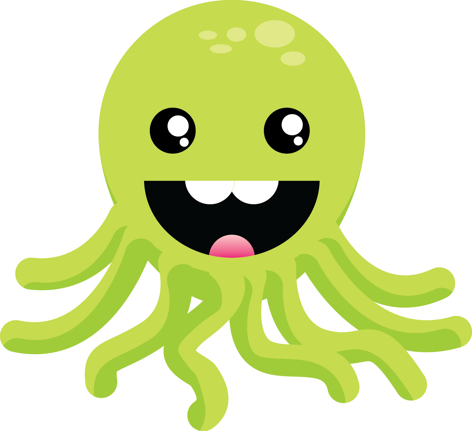 Jokingart com green. Clipart anchor octopus