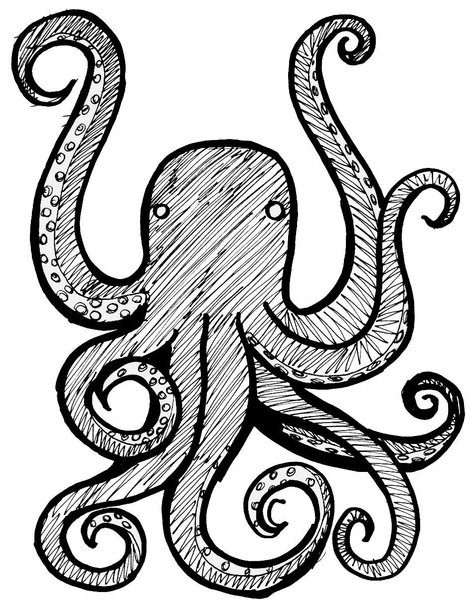 Clipart anchor octopus. Free jokingart com download