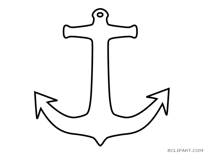 Bclipart tools free images. Clipart anchor outline
