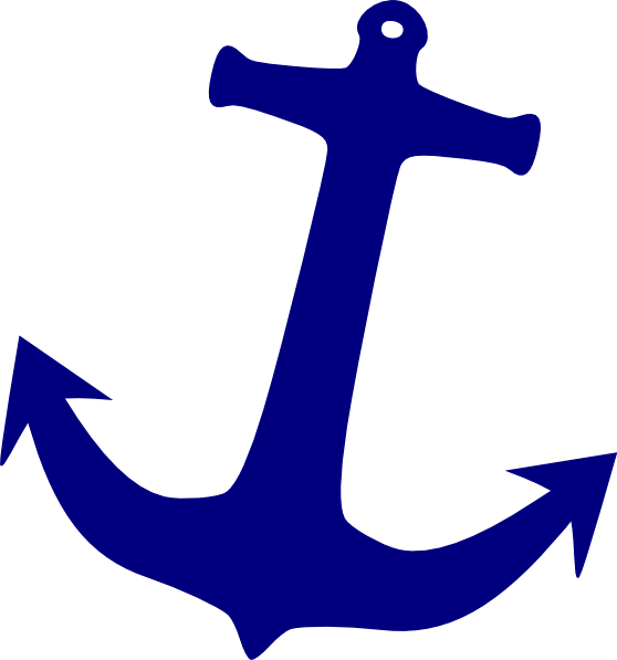 Clipart anchor outline. Clip art at clker
