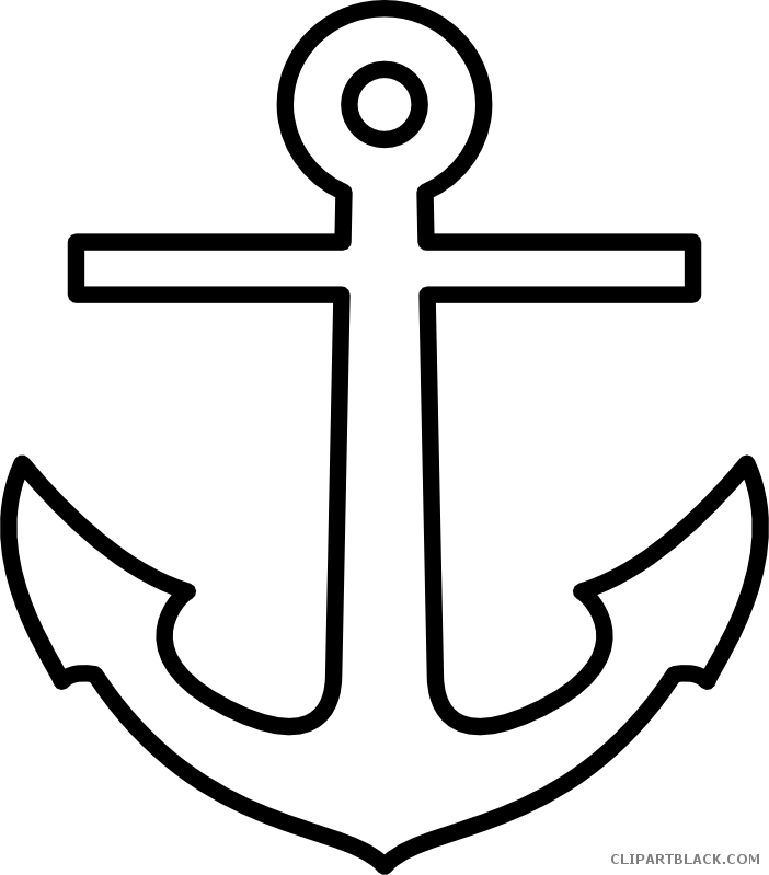 Clipartblack com tools free. Clipart anchor outline