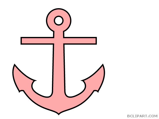 Clipart anchor pink. Bclipart tools free images