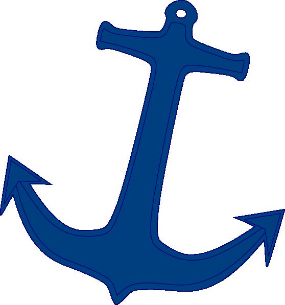 Clipart anchor pink. Navy clip art at