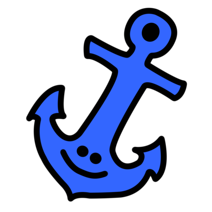 Collection of free anachoret. Clipart anchor preppy