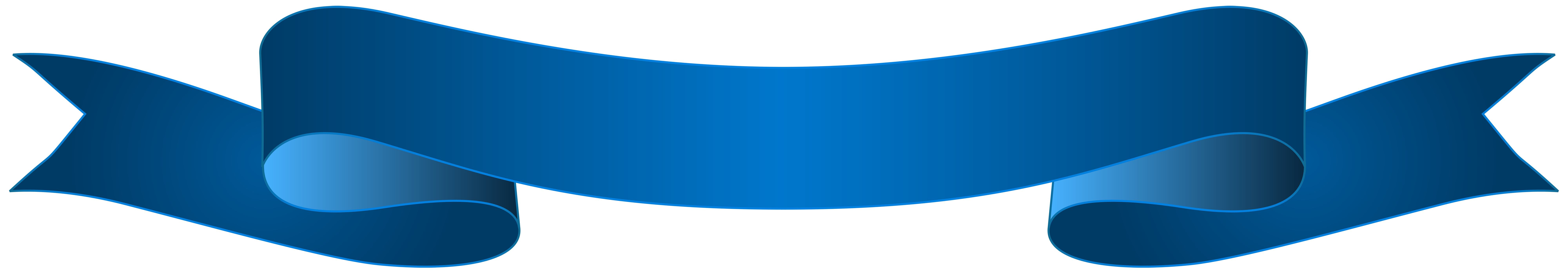 Blue banner transparent clip. Clipart anchor ribbon