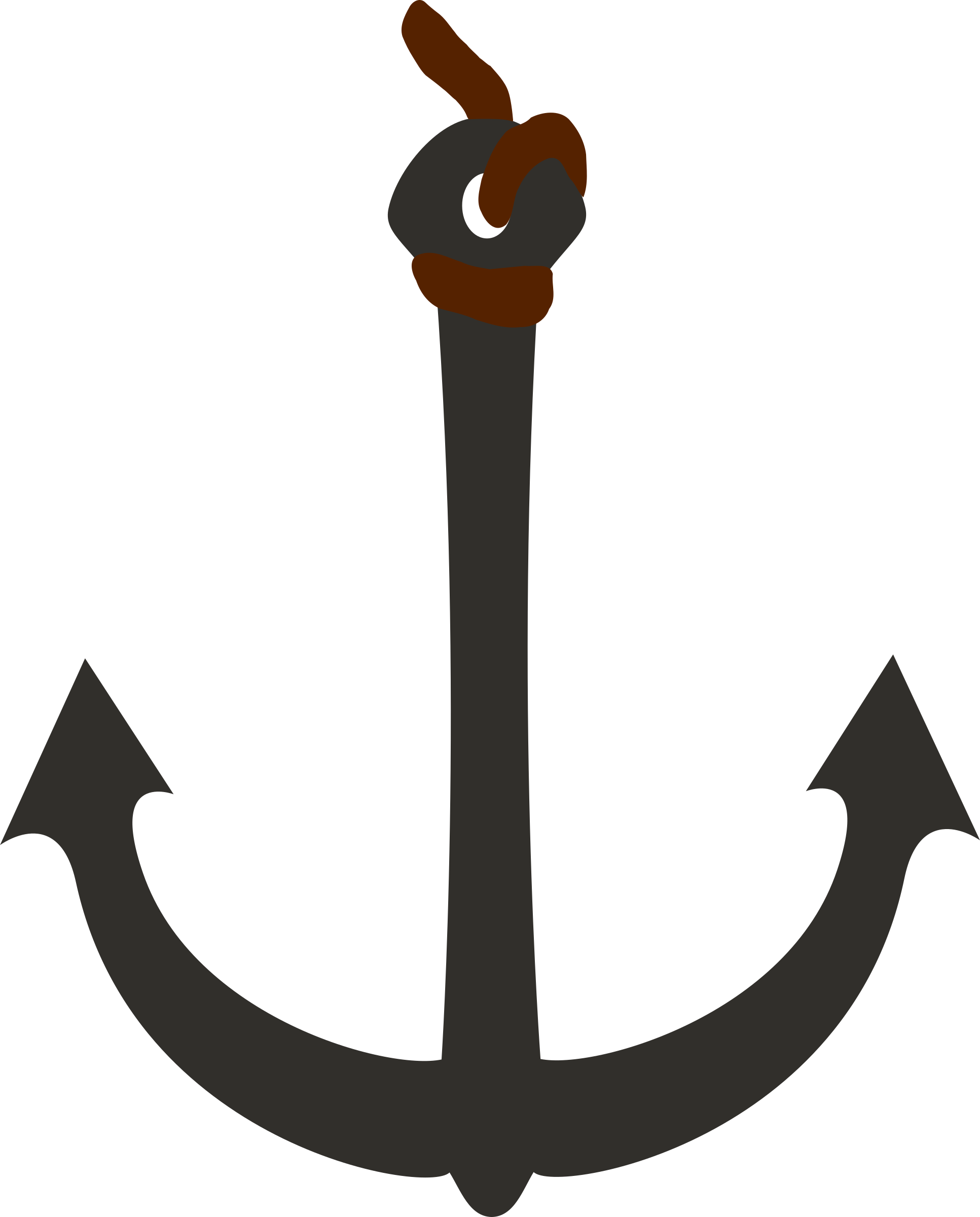 Clipart anchor rope.