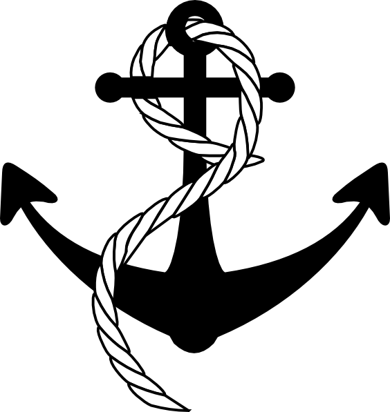 With clip art at. Clipart anchor rope