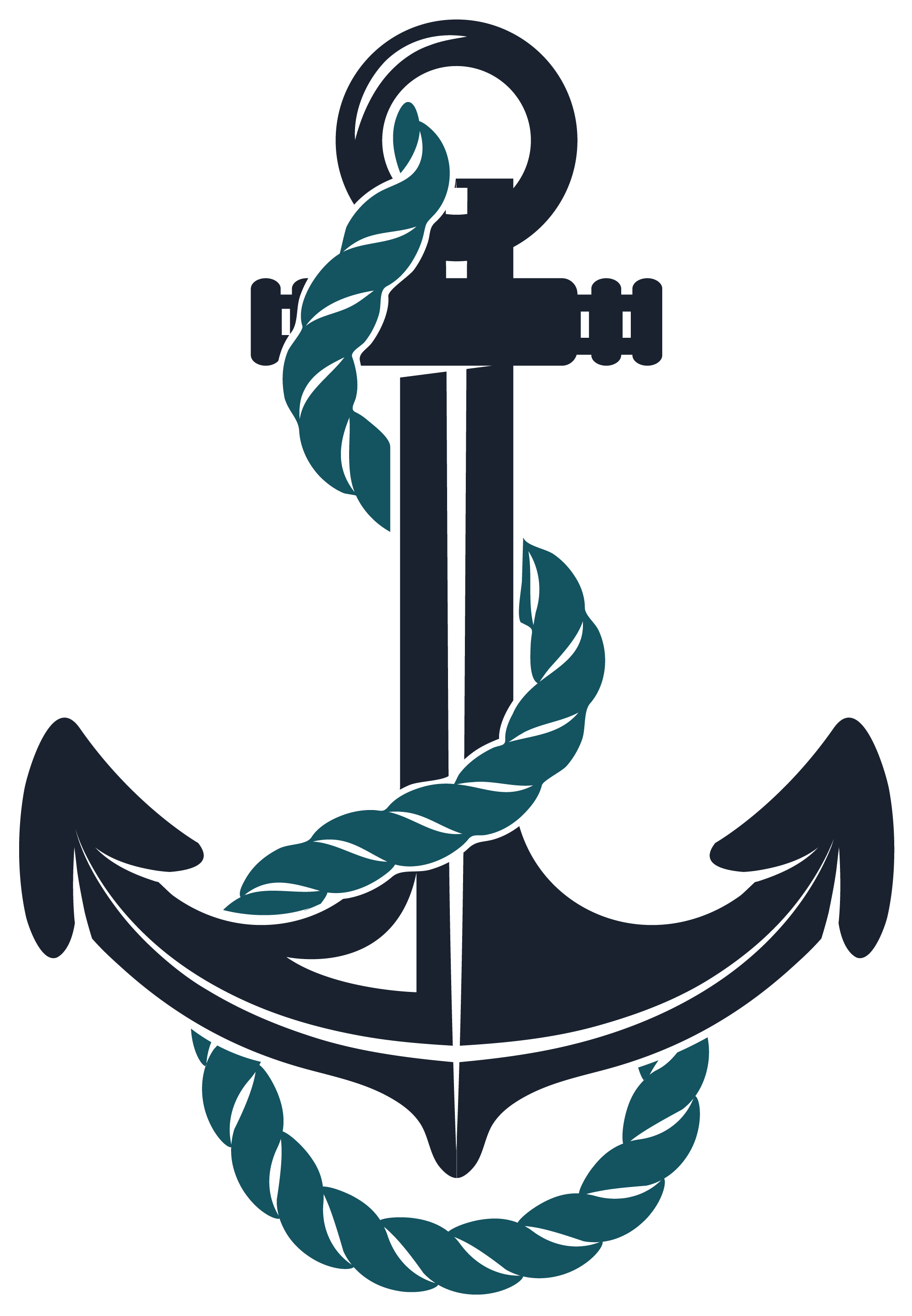 Clipart anchor rope. Clip art hand painted