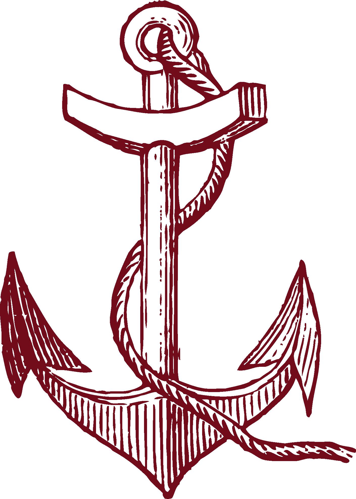 Tattoos drawing clip art. Clipart anchor sailor
