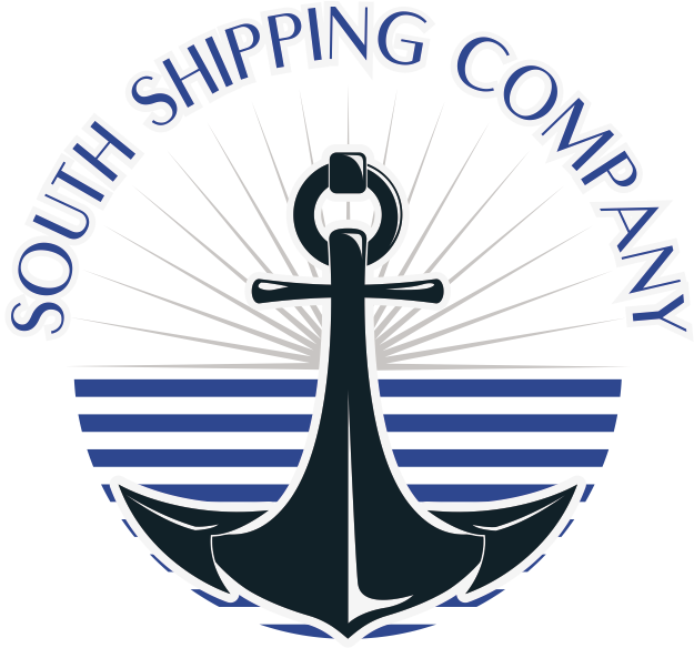 Clipart anchor seaman logo. South shipping company