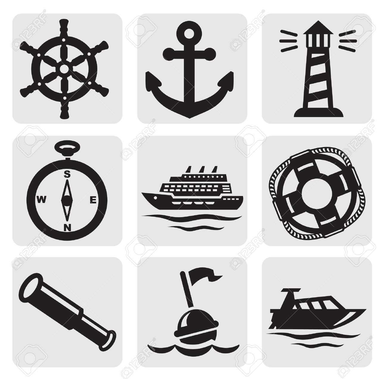 Clipart anchor seaman logo. Images stock pictures royalty