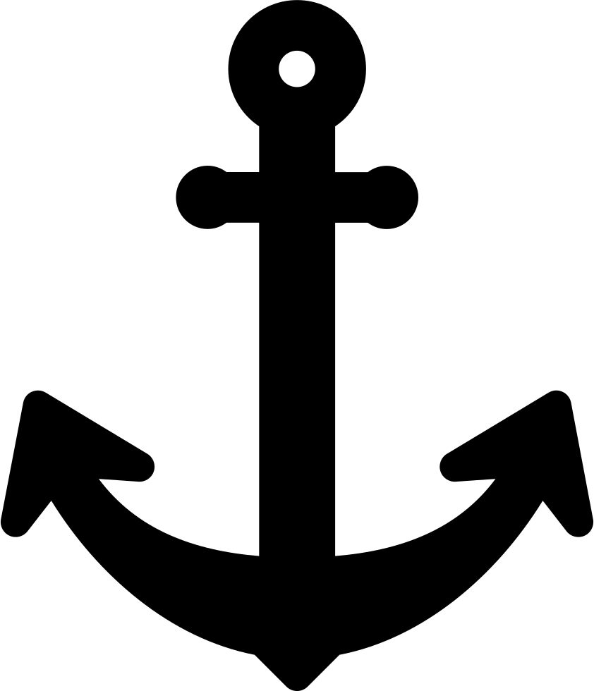 Big svg png icon. Clipart anchor shaded