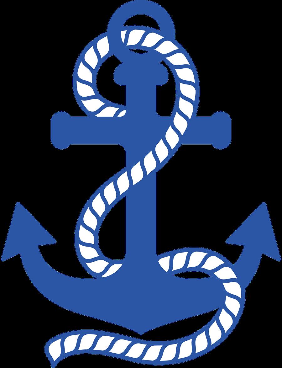 Clipart anchor silhouette. Minus say hello cameo