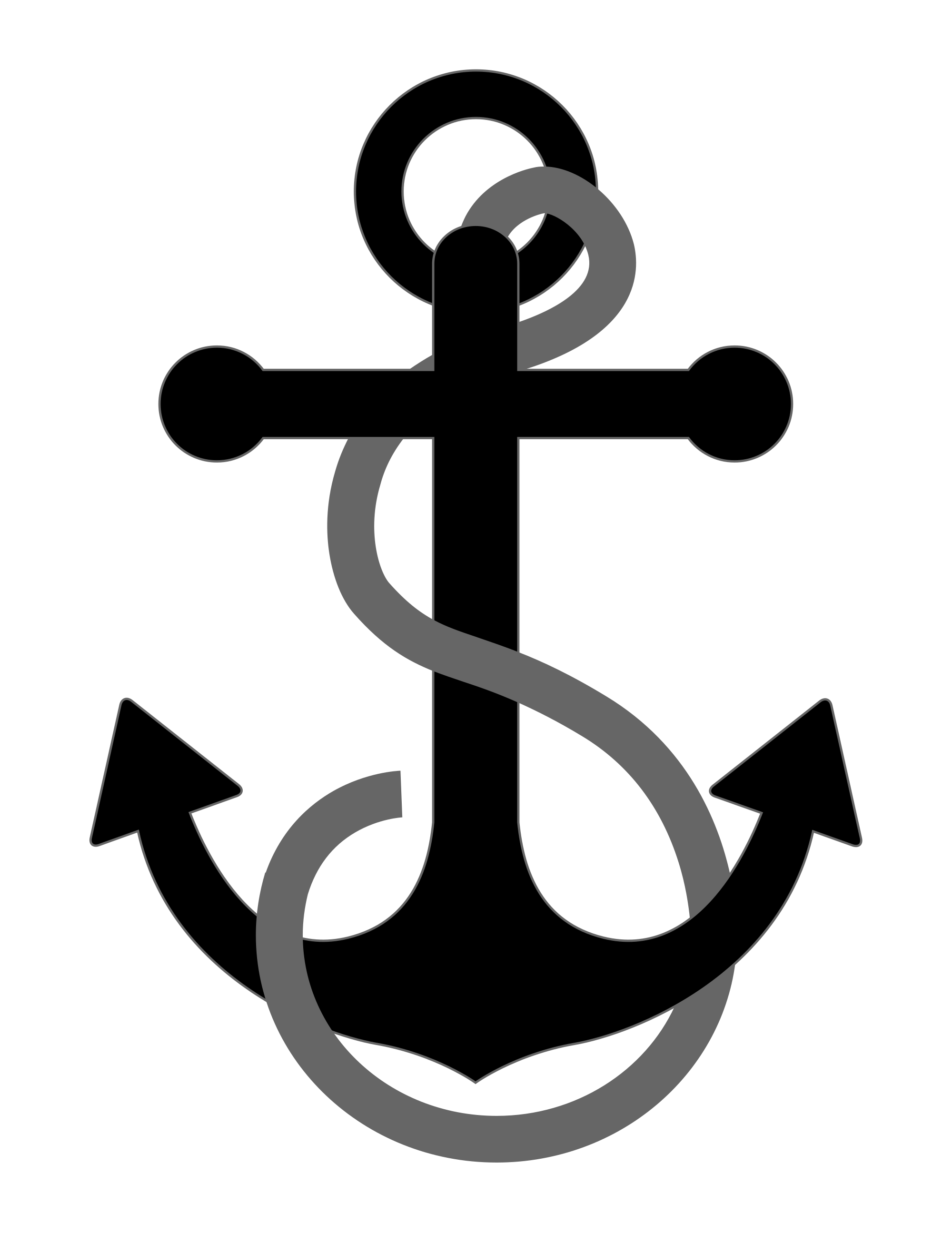 Clipart anchor svg. File with cable wikimedia