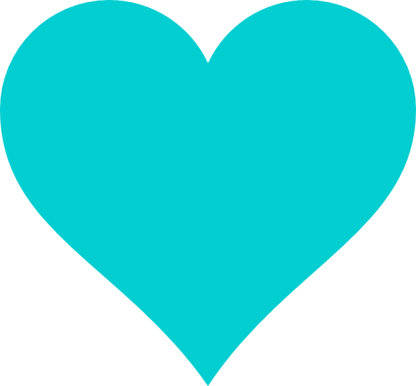 Heart pencil and in. Clipart anchor teal