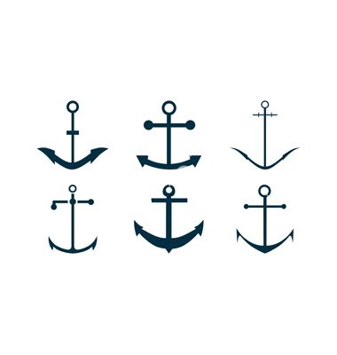 Free simple cliparts download. Clipart anchor thin