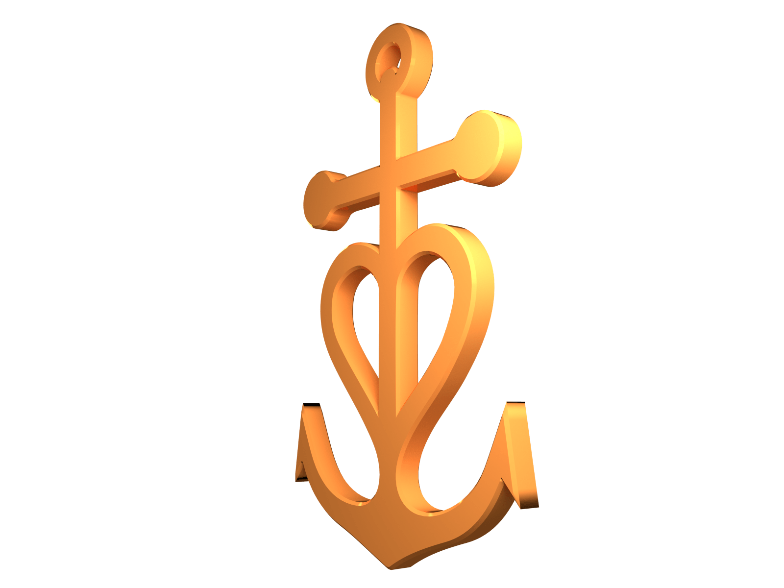 Clipart anchor thin. Christian transparent png stickpng