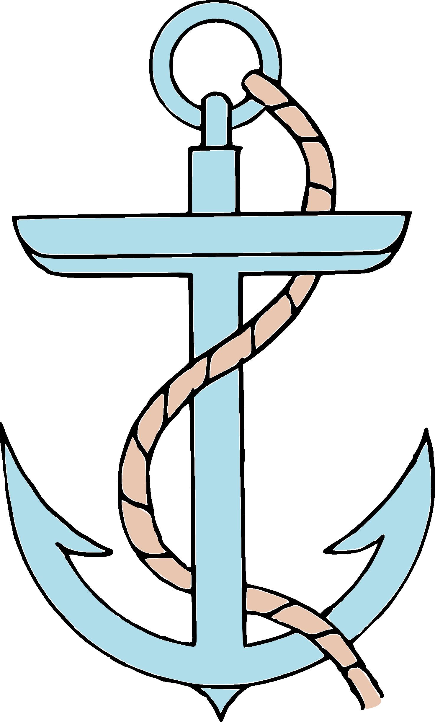 Clipart anchor tilted. Hd clip art free