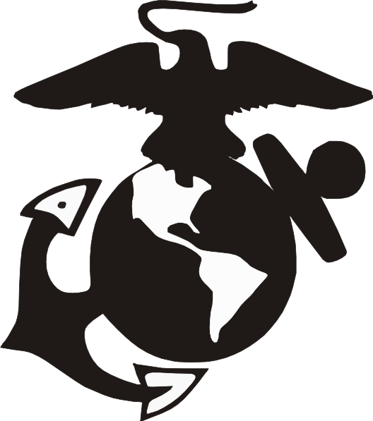 Clipart anchor traceable. Usmc emblem clip art