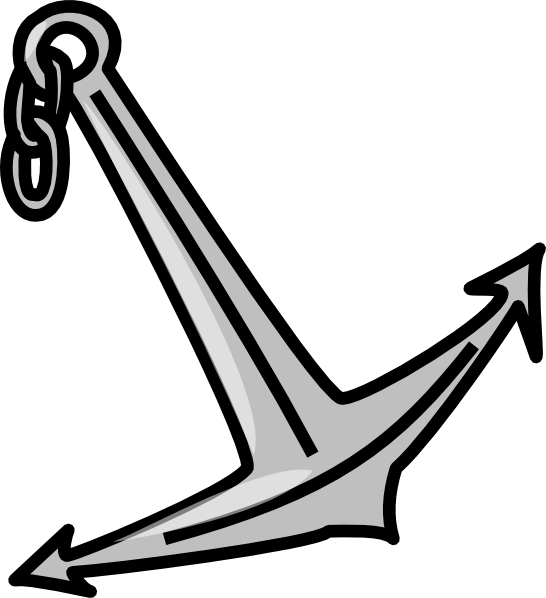 Clipart anchor two. Clip art at clker