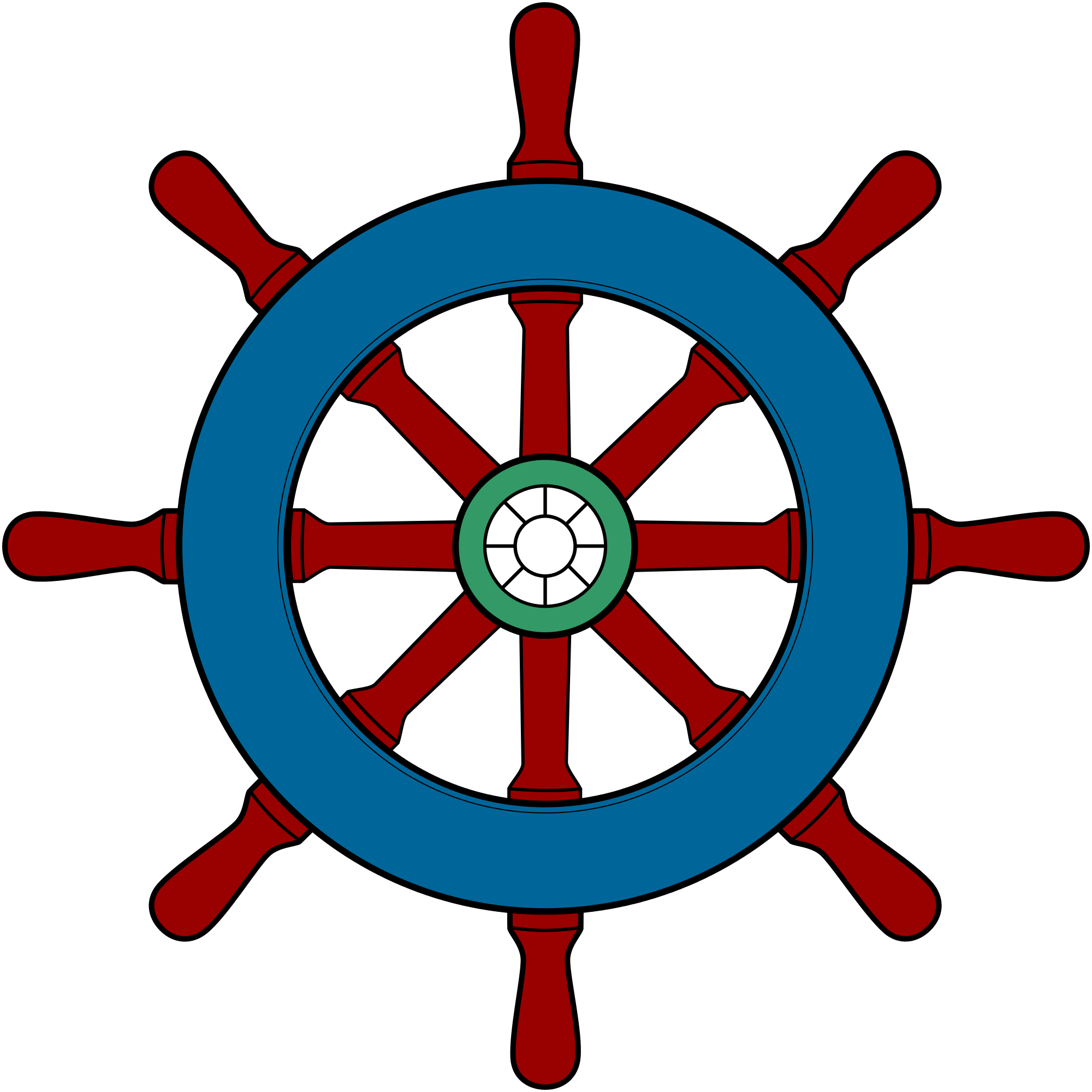 Clipart anchor wheel. Ships group filewikivoyagesteering shipsvg