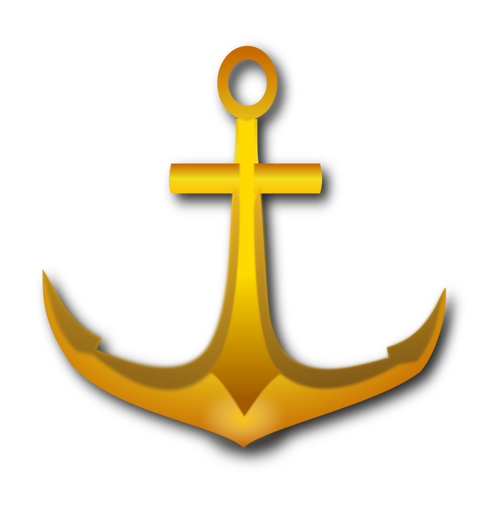 Onlinelabels clip art golden. Clipart anchor yellow anchor