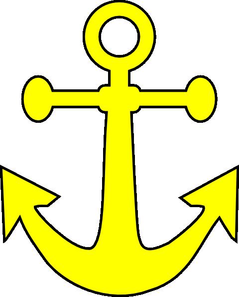 Clipart anchor yellow anchor. Clip art library