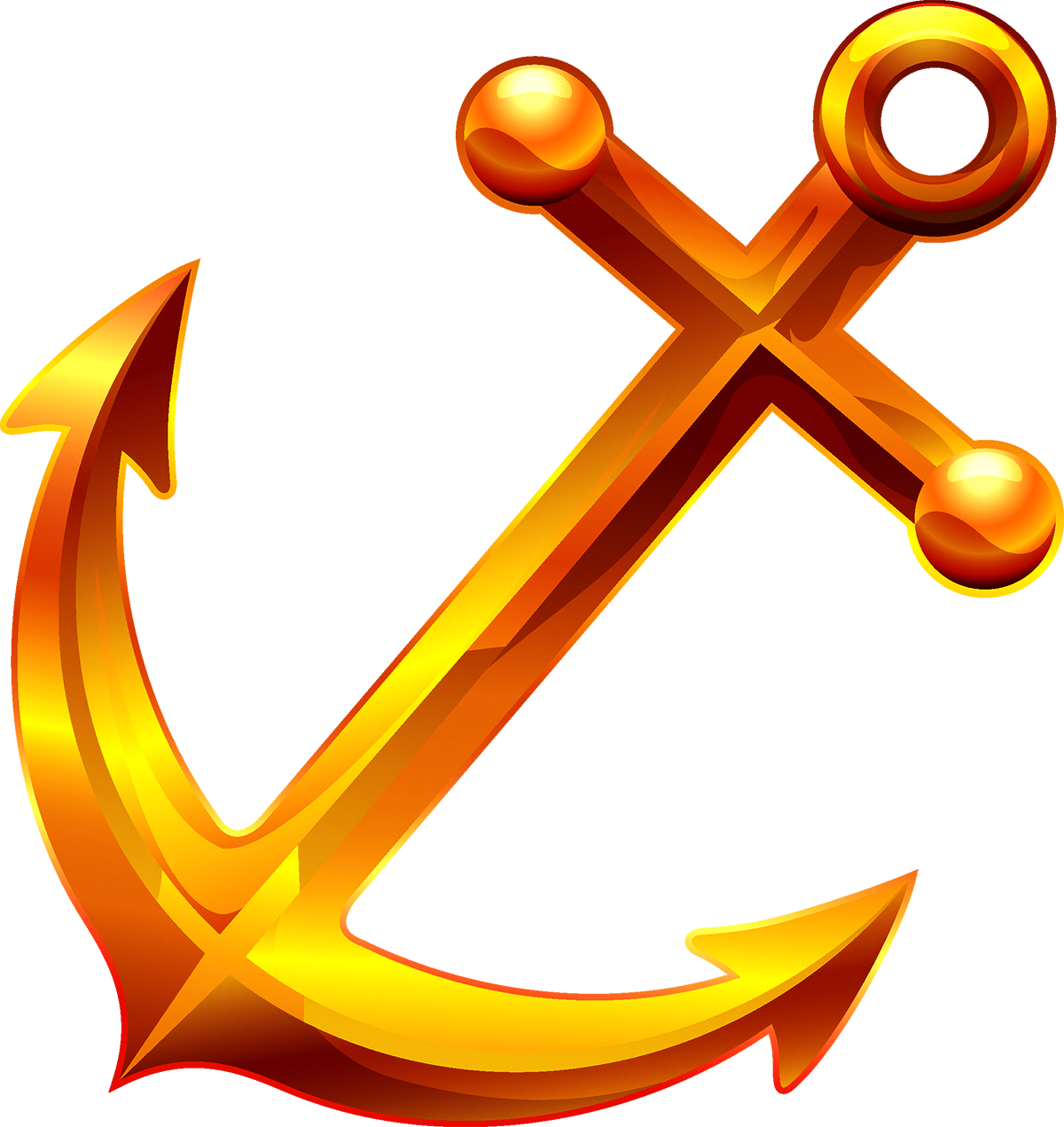 Clipart anchor yellow anchor. Clip art anchors transprent