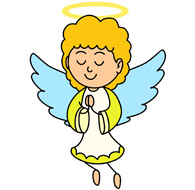 Clip art free printable. Clipart angel
