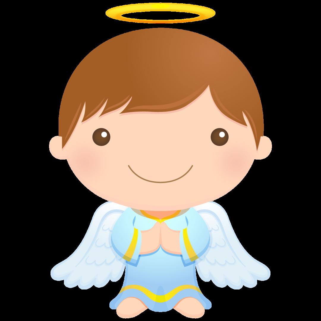 Clipart smile boy's. Cherub angel first communion