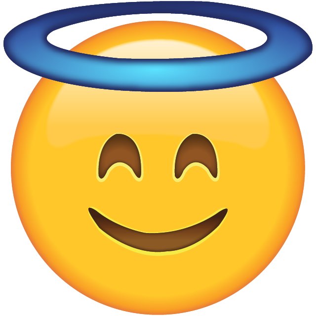 Clipart smile determined face. Download smiling with halo