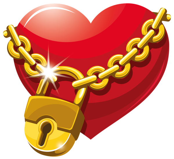Lock clipart round lock. Locked heart png king