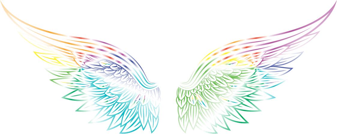 Meditations journal pages and. Wing clipart archangel